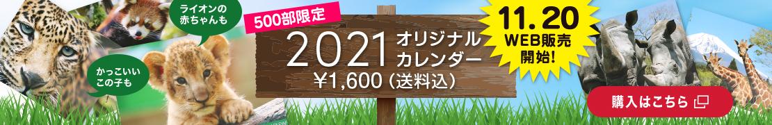 2021 オリジナルカレンダー¥1,600(送料・税込)