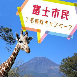 記事「富士市民1名無料キャンペーン(11月11日まで)」の画像
