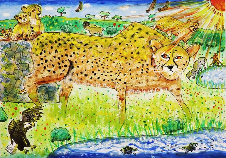 ジャングルの動物たち