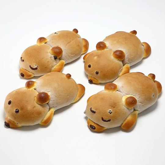 のんびりクマさんのブルーベリーパン
