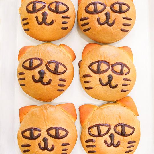 和栗の黒ねこパン